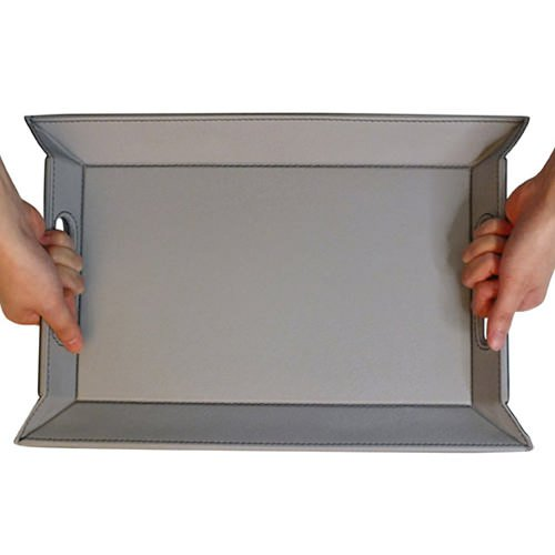 FreeForm Reversible Tray Grey/Black 45x35cm