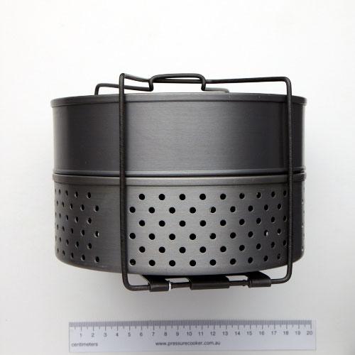 Futura Separator Combi Set Anodised Aluminium 2 Tier For 7L