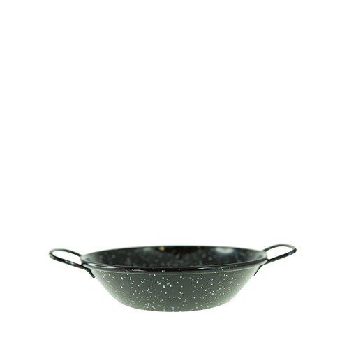 Garcima Enamelled Deep Pan Side Handles 16cm