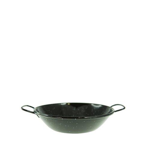 Garcima Enamelled Deep Pan Side Handles 18cm