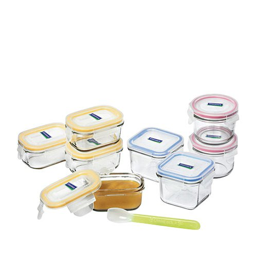Glasslock Baby Meal Container 9pc Set