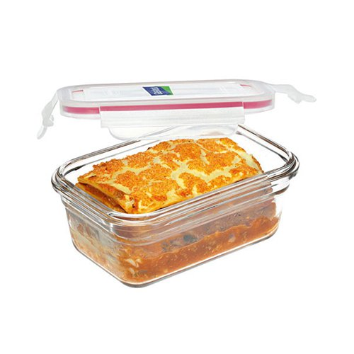 Glasslock Oven Safe Large Rectangular Container 4pc Set