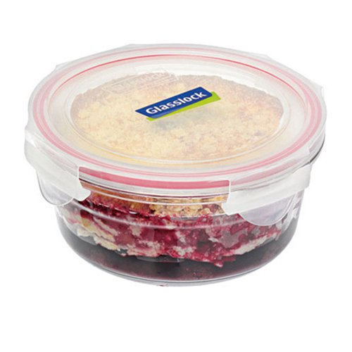 Glasslock Oven Safe Round Container 1.5L