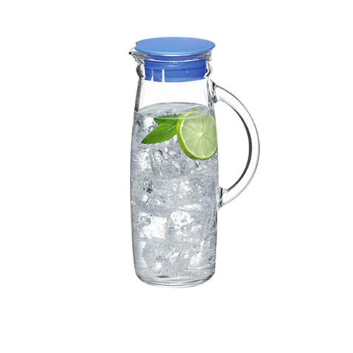 Glasslock Water Jug with Lid 1L