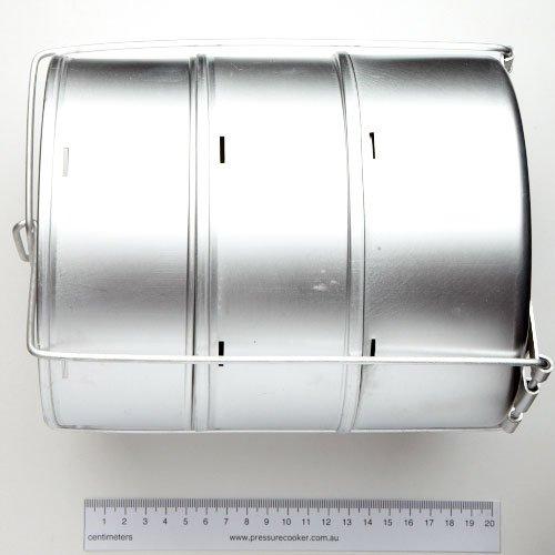 Hawkins Separator Set Stainless Steel 3 Equal Tiers