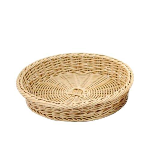 IconChef Hand Woven Round Fruit Basket 29cm