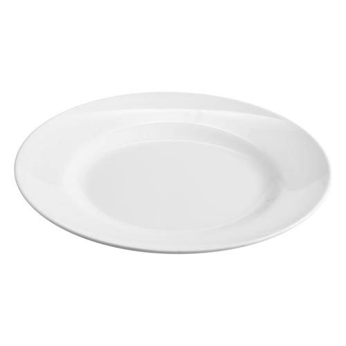 Superware Melamine Round Plate 25cm White