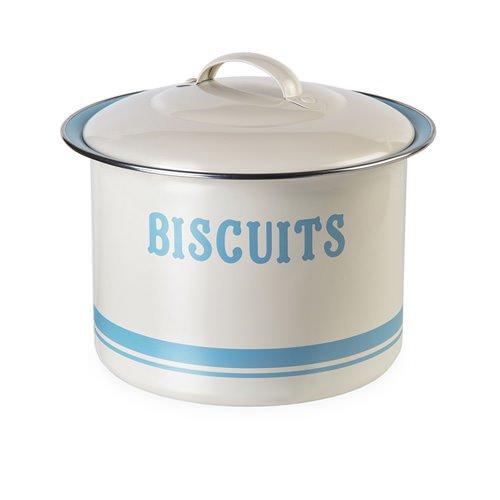 Jamie Oliver Biscuit Tin Blue