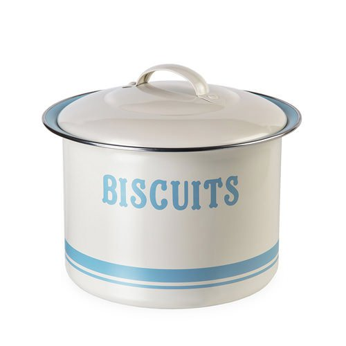 Jamie Oliver Biscuit Tin Blue