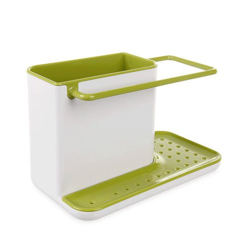 caddy sink organiser white green buy now save. Black Bedroom Furniture Sets. Home Design Ideas
