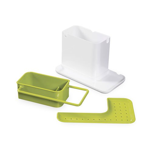 new joseph joseph caddy sink organiser white green ebay. Black Bedroom Furniture Sets. Home Design Ideas