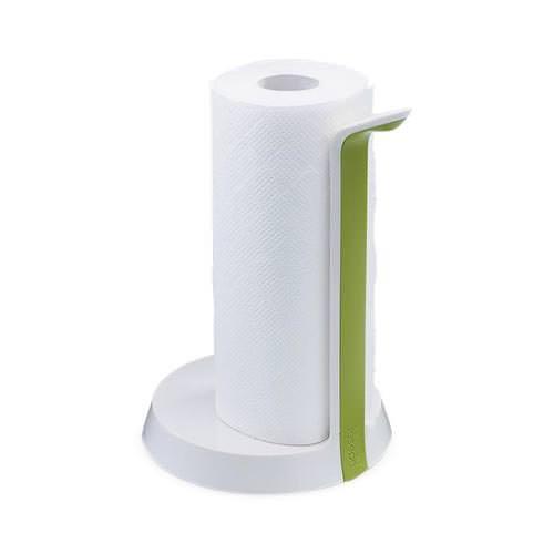 Joseph Joseph Easy Tear Kitchen Roll Holder White Green Fast