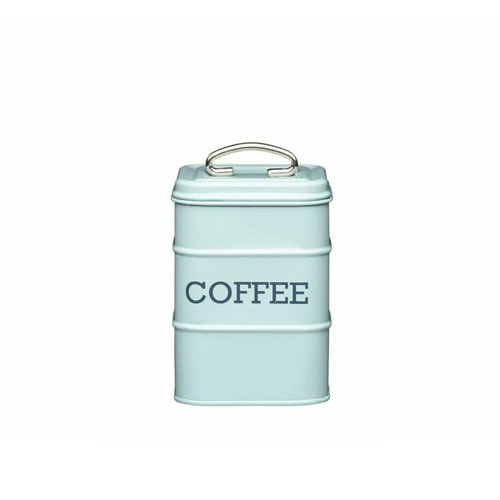 Kitchen Craft Living Nostalgia Coffee Canister Blue