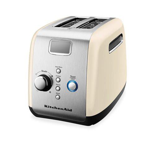 Kitchenaid artisan 2 slice toaster almond cream free shipping - Artisan toaster slice ...