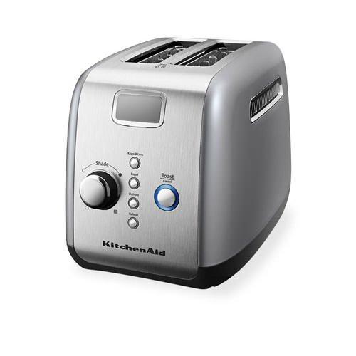 Kitchenaid artisan 2 slice toaster contour silver free shipping - Artisan toaster slice ...