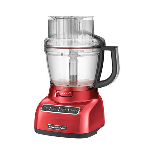 kitchenaid artisan exactslice food processor empire red ebay. Black Bedroom Furniture Sets. Home Design Ideas