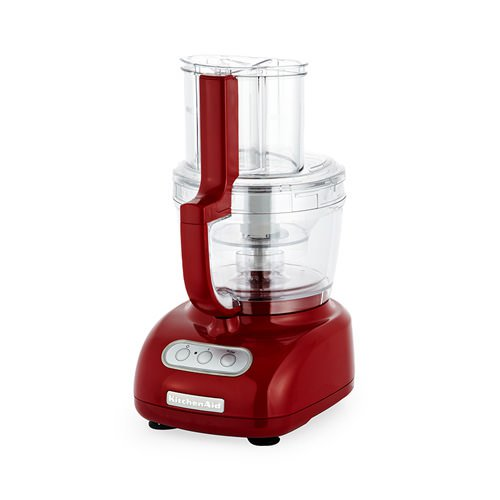 Kitchenaid artisan food processor empire red on sale now for Kitchenaid food processor