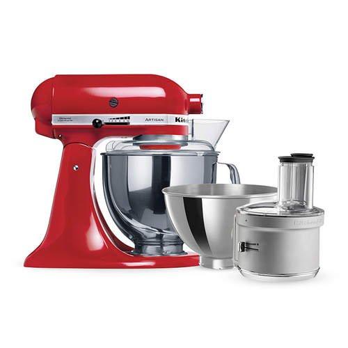 Kitchen Mixers For Sale: KitchenAid Artisan KSM160 Stand Mixer Empire Red W/ Food