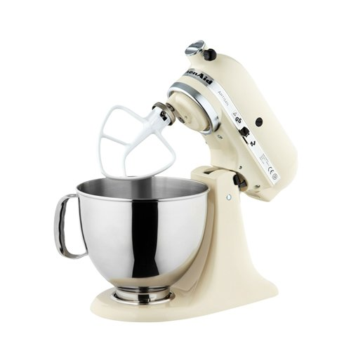 Swell Kitchenaid Artisan Ksm150 Stand Mixer Almond Cream Home Remodeling Inspirations Cosmcuboardxyz
