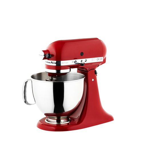 KitchenAid Artisan Mixer KSM150 Empire Red with Bonus Cookbook