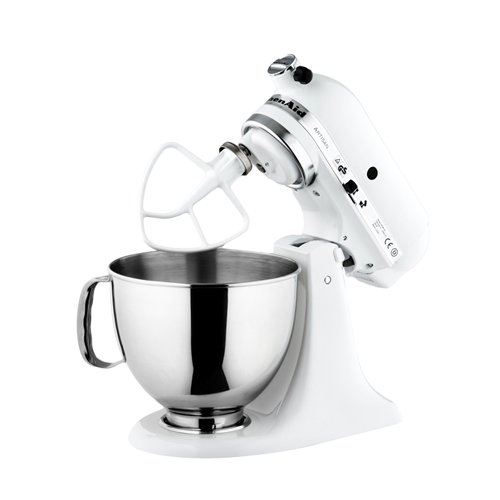 White Kitchenaid kitchenaid mixer ksm150 white - on sale now!
