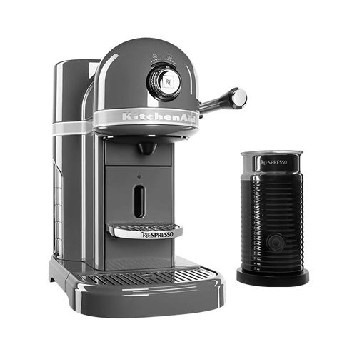 KitchenAid KES0504 Nespresso Machine Medallion Silver