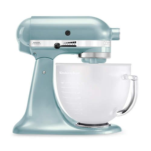 KitchenAid Platinum Collection KSM156 Stand Mixer Frosted Azure