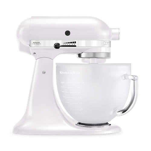 KitchenAid Platinum Collection KSM156 Stand Mixer Frosted Pearl