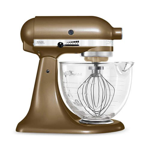 KitchenAid Platinum Collection KSM156 Stand Mixer Toffee