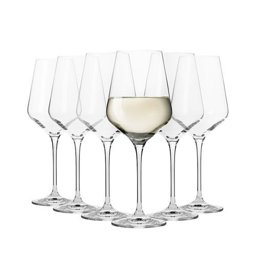 Krosno Flair Chardonnay Wine Glass 460ml Set of 6