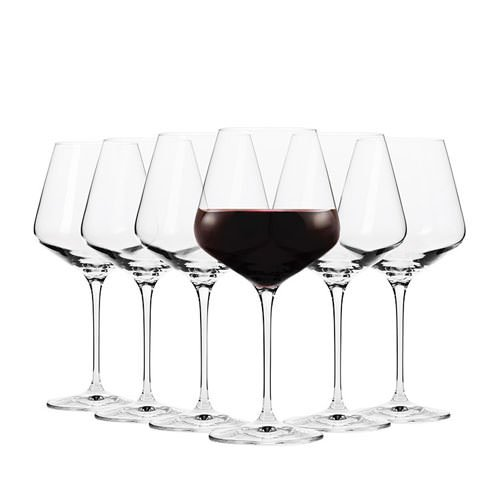 Krosno Flair Pinot Wine Glass 470ml Set of 6