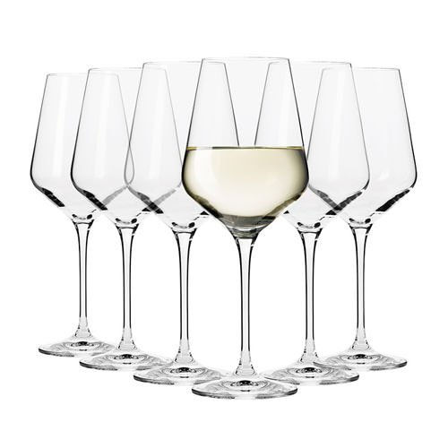 Krosno Flair Riesling Wine Glass 390ml Set of 6