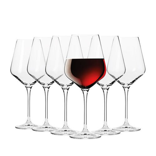 Krosno Flair Shiraz Wine Glass 490ml Set of 6