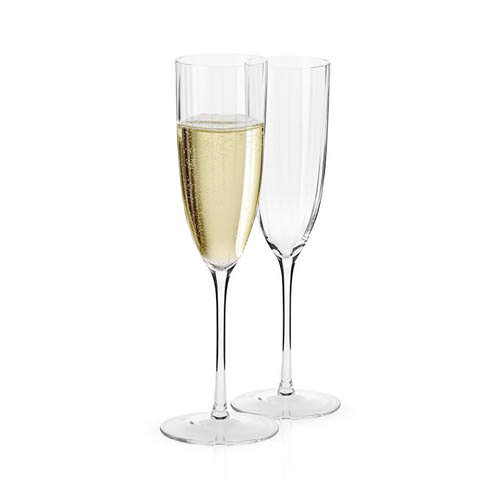 Krosno opulence flute pair 170ml fast shipping - Angelica kitchen delivery ...