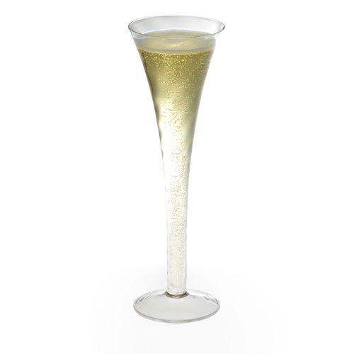 Krosno silhouette hollow stem champagne flute set of 2 - Champagne flutes hollow stem ...