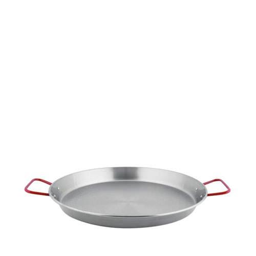 Lacor Paella Pan 34cm Diameter Black Steel