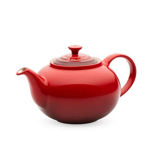 le creuset classic teapot cerise on sale now. Black Bedroom Furniture Sets. Home Design Ideas
