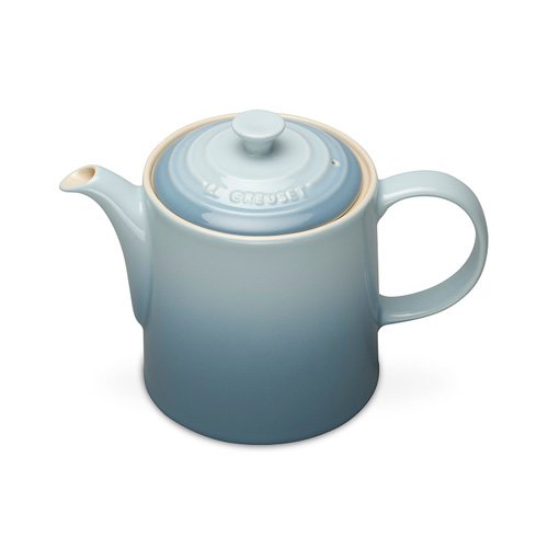 le creuset grand teapot coastal blue on sale now. Black Bedroom Furniture Sets. Home Design Ideas