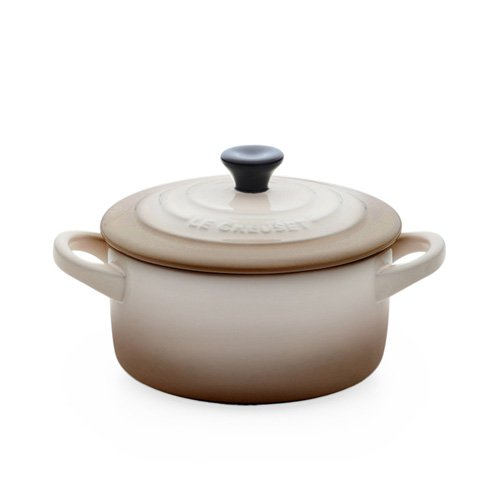 le creuset mini cocotte 10cm nutmeg. Black Bedroom Furniture Sets. Home Design Ideas