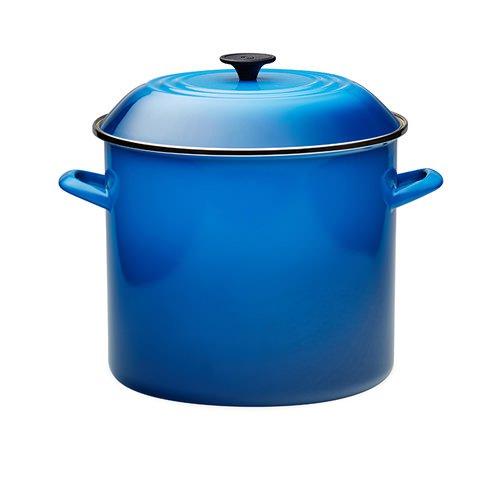 Le Creuset Enamel Stockpot 15 2l Marseille Blue Fast