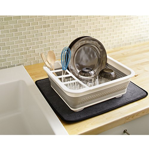 Madesmart Collapsible Dish Rack 37x32cm