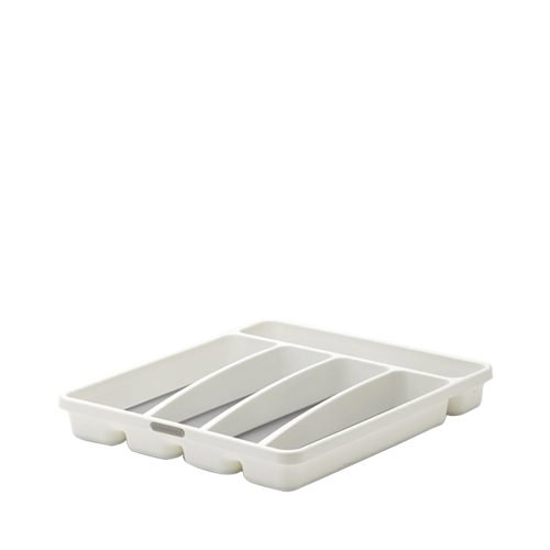 Madesmart Cutlery Tray 5 Compartment White