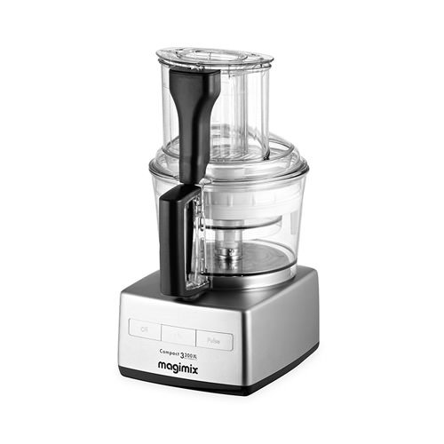Magimix 3200XL Food Processor Matt Chrome w/ XL Feed Tube