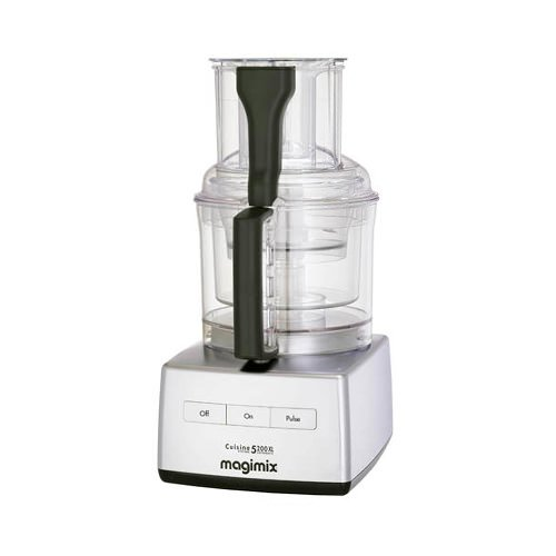 Magimix 5200XL Food Processor Matt Chrome w/ XL Feed Tube