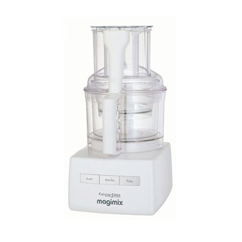 Magimix 5200XL Food Processor White w/ XL Feed Tube