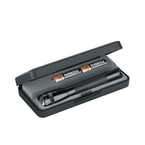 Maglite Mini Torch AA with Batteries and Gift Box Black