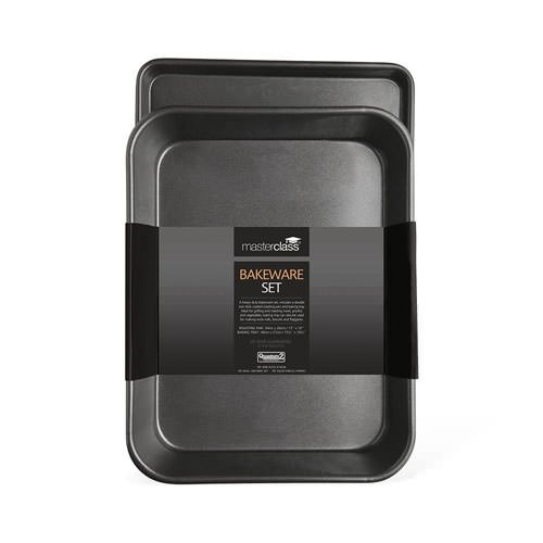 Master Class Non-Stick Bakeware Set Twin Pack
