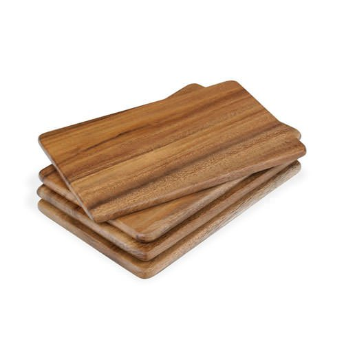MasterChef Individual Acacia Serving Board Set of 4