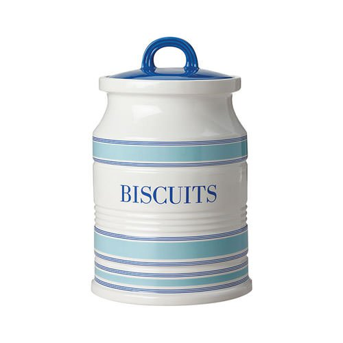 Maxwell & Williams Coastal Stripes Biscuits Canister 2L