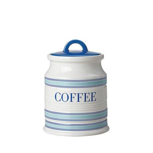 Maxwell & Williams Coastal Stripes Coffee Canister 500ml